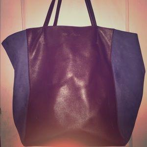 Celine phantom cabas leather medium